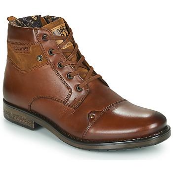 Shoes Men Mid boots Redskins NISSA Cognac