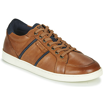 Shoes Men Low top trainers Redskins MARJOL Cognac