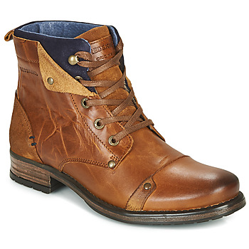 Shoes Boy Mid boots Redskins YEDES CADET Cognac