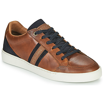 Shoes Boy Low top trainers Redskins FATALIST CADET Cognac