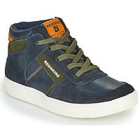 Shoes Boy High top trainers Redskins LAVAL KID Marine / Kaki