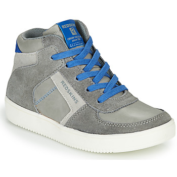 Shoes Boy High top trainers Redskins LAVAL KID Grey / Blue