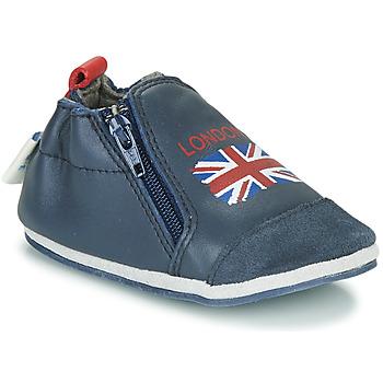 Shoes Children Slippers Robeez LONDON FLAG Marine