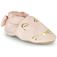 Shoes Girl Slippers Robeez GOLDY CAT Pink / Gold