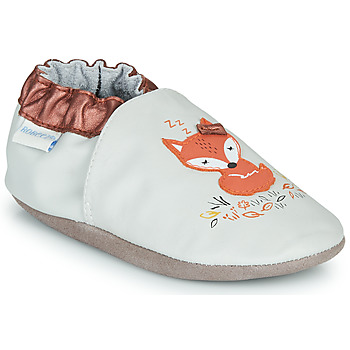 Shoes Girl Slippers Robeez LITTLE DREAMER Grey / Orange