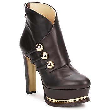 Shoes Women Ankle boots Moschino MA2104 DARK / Brown