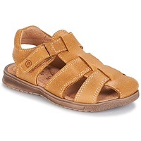 Shoes Boy Sandals Citrouille et Compagnie MELTOUNE Camel