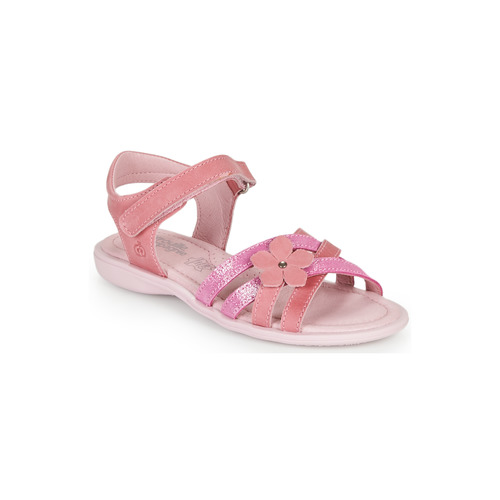 Shoes Girl Sandals Citrouille et Compagnie BELDAF Fuschia