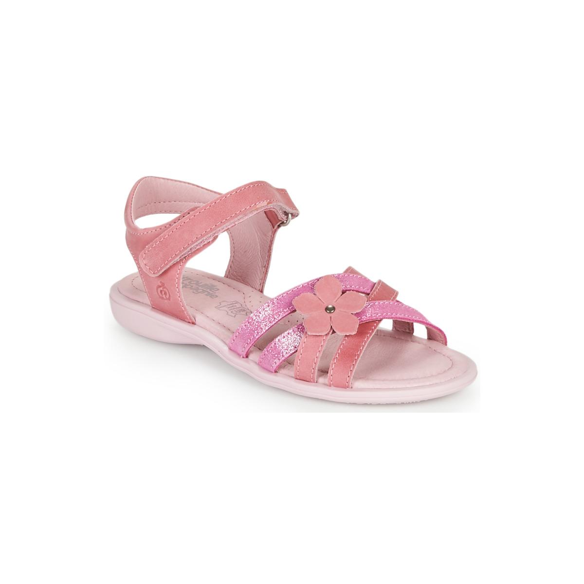 Sandals Citrouille et Compagnie BELDAF Fuschia