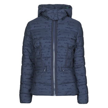 material Women Duffel coats Desigual NATASHA Blue