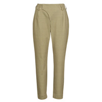 material Women 5-pocket trousers Cream ANETT PANT Beige