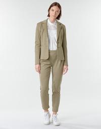 material Women 5-pocket trousers Cream ANETT PANT Beige