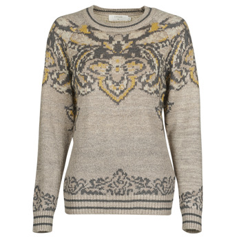 material Women jumpers Cream SELMI PULLOVER Brown