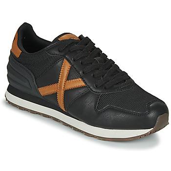Shoes Men Low top trainers Munich MASSANA Black
