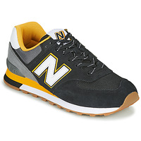Shoes Men Low top trainers New Balance 574 Black / Yellow