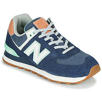 Shoes Women Low top trainers New Balance 574 Blue