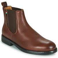 Shoes Men Mid boots Pantofola d'Oro LEVICO UOMO HIGH Brown