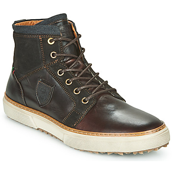 Shoes Men High top trainers Pantofola d'Oro BENEVENTO UOMO HIGH Brown