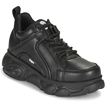 Shoes Women Low top trainers Buffalo CORIN Black