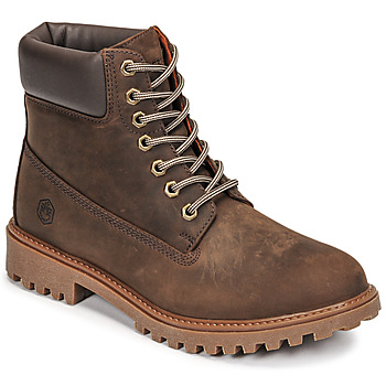Shoes Men Mid boots Lumberjack RIVER Brown