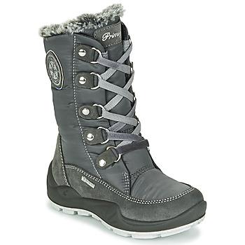 Shoes Girl Snow boots Primigi GIRL WINGER GTX Grey