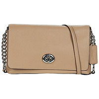 Bags Women Shoulder bags Coach CROSSTOWN Taupe