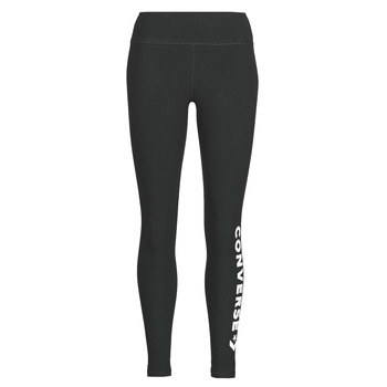 material Women leggings Converse CONVERSE WOMENS WORDMARK LEGGING Black