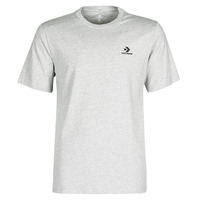 material Men short-sleeved t-shirts Converse CONVERSE LEFT CHEST SM STAR CHEVRON TEE Grey