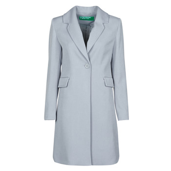 material Women coats Benetton 2AMH5K2R5 Grey