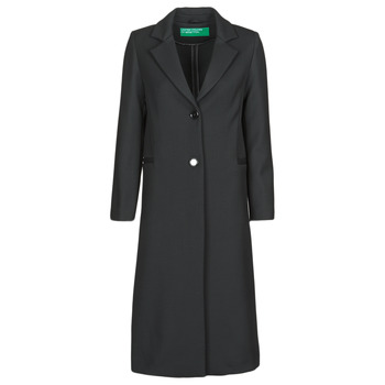 material Women coats Benetton 2AMF5K2P5 Black