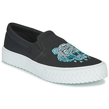 Shoes Women Slip ons Kenzo K SKATE Black