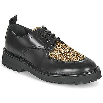 Shoes Women Derby shoes Kenzo K MOUNT Black / Leopard