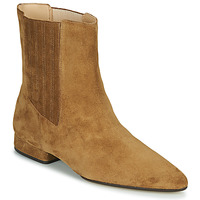 Shoes Women Mid boots Kenzo K LINE SOFT Camel