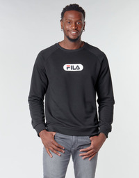 material Men sweaters Fila BAHA RAGLAN CREW Black
