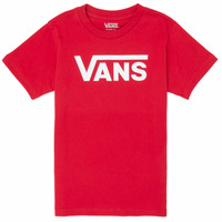 material Boy short-sleeved t-shirts Vans BY VANS CLASSIC Red