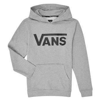 material Children sweaters Vans VANS CLASSIC PO Grey