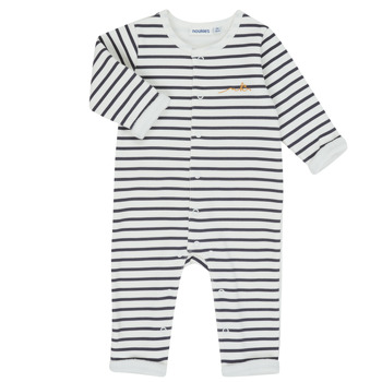 material Boy Jumpsuits / Dungarees Noukie's Z050123 White / Blue
