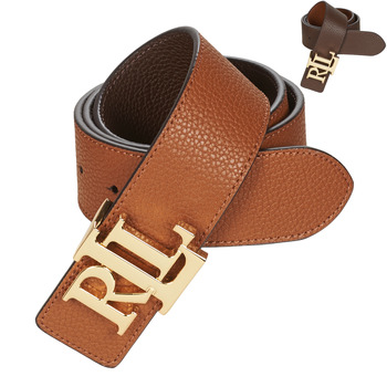 Accessorie Women Belts Lauren Ralph Lauren REV LRL 40 Brown / Cognac