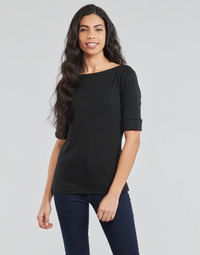 material Women Long sleeved shirts Lauren Ralph Lauren JUDY Black
