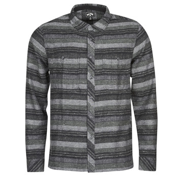 material Men long-sleeved shirts Billabong OFFSHORE LS Black