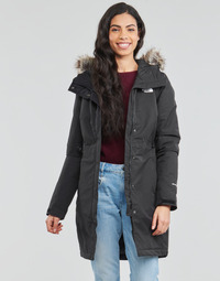material Women Parkas The North Face W RECYCLED ZANECK PARKA Black