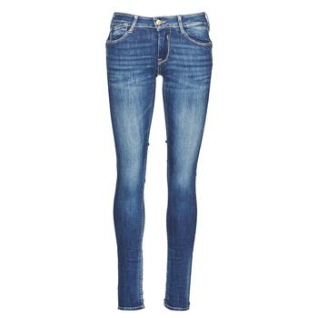 material Women slim jeans Le Temps des Cerises PULP Blue