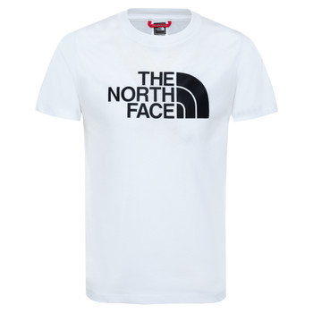material Boy short-sleeved t-shirts The North Face EASY TEE White