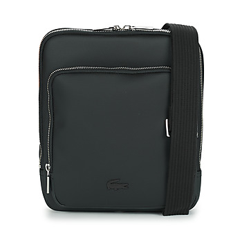 Bags Men Pouches / Clutches Lacoste MEN'S CLASSIC CROSSOVER BAG Black