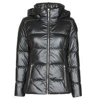 material Women Duffel coats Les Petites Bombes ATHINA Black