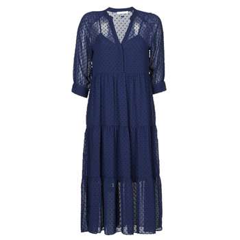 material Women Long Dresses Les Petites Bombes APRIL Blue