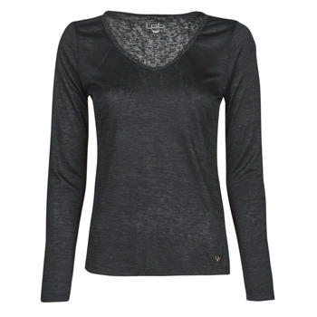material Women Long sleeved shirts Les Petites Bombes ADRIANA Black