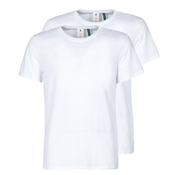 material Men short-sleeved t-shirts G-Star Raw NY JERSEY R White