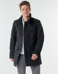 material Men Trench coats G-Star Raw SCUTAR UTILITY PDD TRENCH Dk /  black