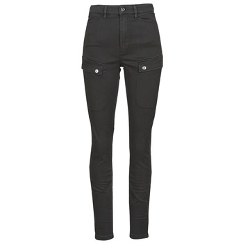 material Women Cargo trousers  G-Star Raw BLOSSITE ARMY ULTRA HIGH SKINNY WMN Dk /  black